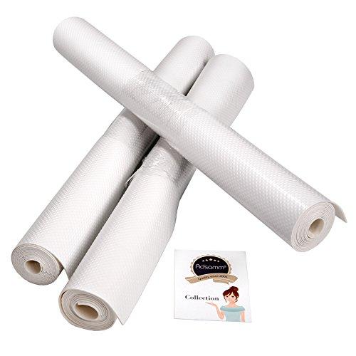 3 X Schubladenmatte 150 X 48cm Anti Rutschmatte Khlschrankeinlage In Wei