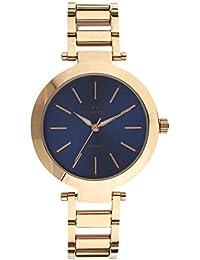 Maxima Analog Blue Dial Women's Watch-O-56890CMLR