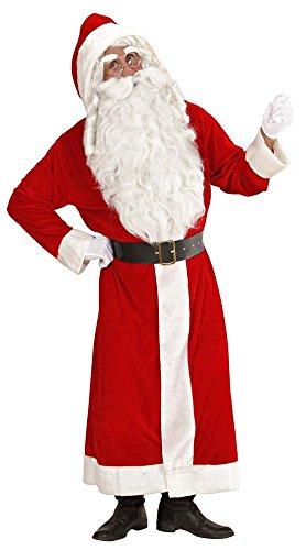 Bart Kostüme Mit (Weihnachtsmann Kostüm Nikolaus)