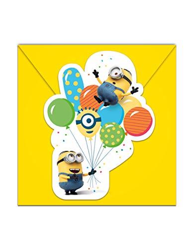 n Party Einladungskarten 6Stk ()