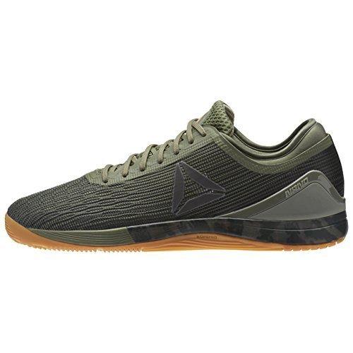 Reebok-Mens-R-Crossfit-Nano-80-Sneaker-Hunter-GreenCoalKhakiB-6-UK