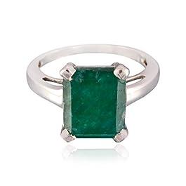 anello con gemme di pietra preziosa con gemme di ottagono – anello in argento massiccio con gemme di pietra preziosa…