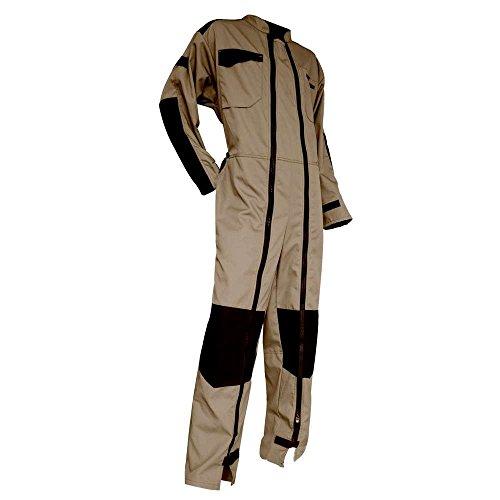 LMA combinación bicolor doble cierre cuello Officier, Beige/Negro, multicolor, 403300 ZINC