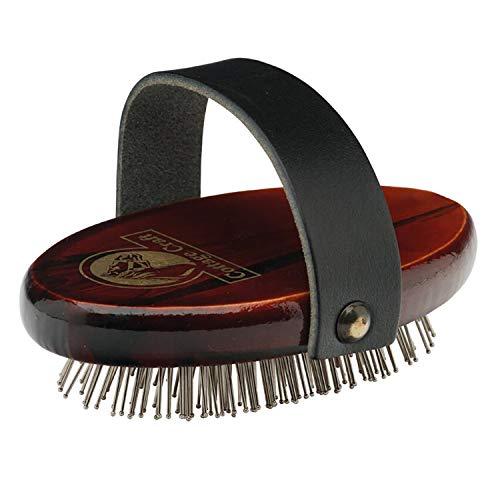 Cottage Craft R220 - Cepillo para el cuidado del caballo (para melena y cola), color marrón/marrón claro