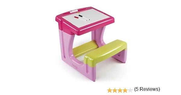 Banco Di Lavoro Giocattolo Smoby : Smoby giocattolo banco da scolaro rosa amazon
