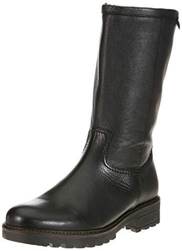 Damen Fashion Stiefel Schwarz (Gabor Shoes Damen Fashion Hohe Stiefel, Schwarz (Cognac) 87, 43 EU)