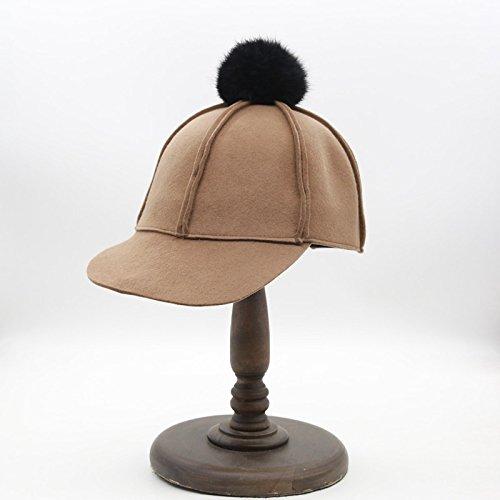 La version cor¨¦enne de la femme les cheveux?? Retro-fit cap chapeau-corps brut brut personnalit¨¦ Ball Cap hat Knight et la couleur r¨¦glable And color