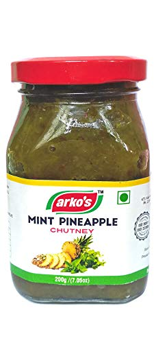 Arkos Mint Pineapple Chutney, 200g