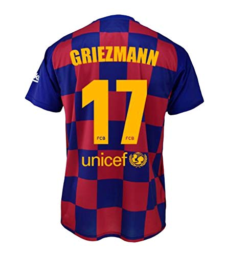 FCB Camiseta Primera Equipación Infantil Griezmann
