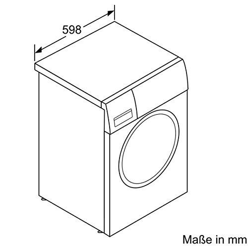 Siemens iQ700 WM16W541 Waschmaschine / 8,00 kg / A+++ / 196 kWh / 1.600 U/min / Schnellwaschprogramm / Nachlegefunktion / aquaStop mit lebenslanger Garantie / - 6