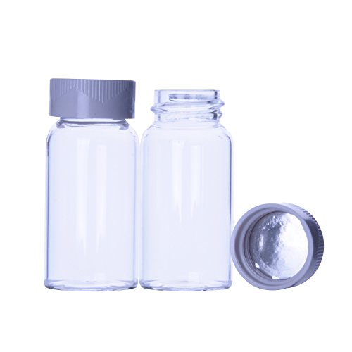 Wheaton 227170 Scintilation Vial, Glass, 20 mL (Pack of 520)