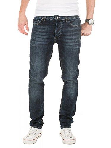 Yazubi Herren Jeans Akai Slim fit, Vintage Indigo (3929), W32/L34