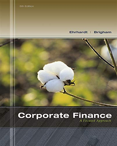 Corporate Finance: A Focused Approach (with Thomson ONE - Business School Edition 6-Month Printed Access Card)