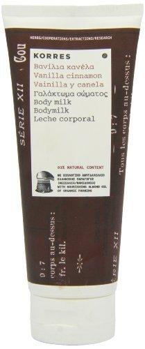 Korres Vanilla Cinnamon Body Milk 200ml by Korres (English Manual)