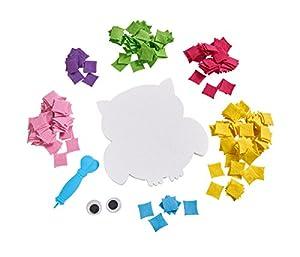 Simba 106304032 - Kits de Manualidades para niños (Kit de Manualidades para niños, Fabric Sheet, Niño/niña, 5 año(s), Child, Owl)