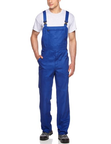 Qualitex Arbeits-Latzhose BW 240 - Größe: 50 - kornblau