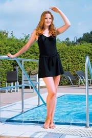 Suprima Badeanzug modisch Art. 1-519-009 (für Damen) - Gr. 52 - schwarz