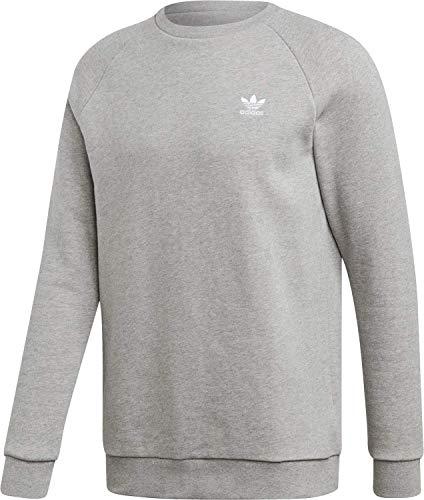adidas Herren Essentials Sweatshirt Medium Grey Heather L