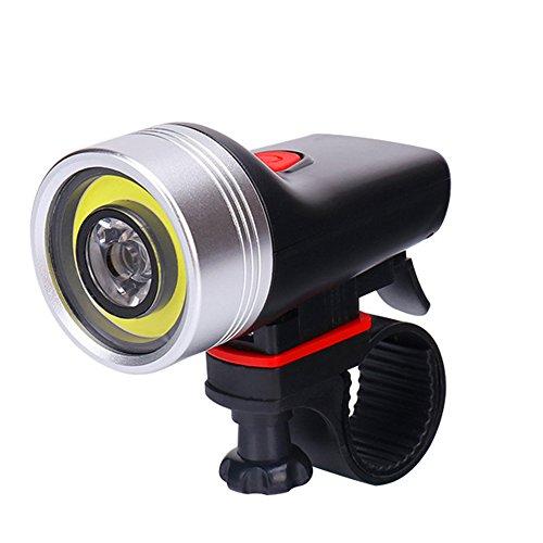 Blinkle Fahrrad Licht Wiederaufladbare Mountain Fahrradlicht mit 4Modi 360° Rotation Anpassung Wasserdicht Best für Road Fahrräder (mit Rückleuchten und Rad Licht)