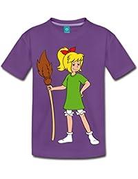 Spreadshirt Bibi Blocksberg Mit Ihrem Besen Kartoffelbrei Kinder Premium T-Shirt