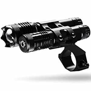 Hawke Kit Tactique - Laser Vert & Lampe pour Lunette de Tir