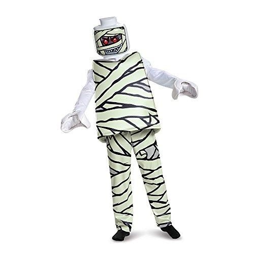 LEGO Iconic - Mumie Deluxe, Kostüm, M (7-8 J.), 127-136 cm (Kostüm Mumie Maske)