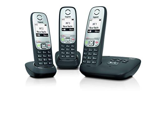 Gigaset L36852-H2525-C111 A415A Telefone schwarz