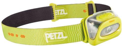 Petzl Tikka - Linterna (Linterna con cinta para cabeza, Amarillo, IPX4, 1 lámpara(s), 80 lm, 50 m)