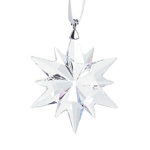 Swarovski Kleiner Stern Ornament Figur, Kristall, Transparent, 4.6 x 3.6 x 0.6 cm