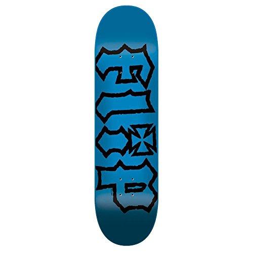 Flip Skateboards HKD Decay Skateboard Deck Blau 19,1cm