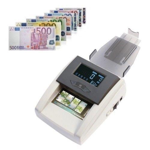 CONTROLLA BANCONOTE FALSE CONTA TAGLI MISTI MONEY DETECTOR DISPLAY DIGITALE