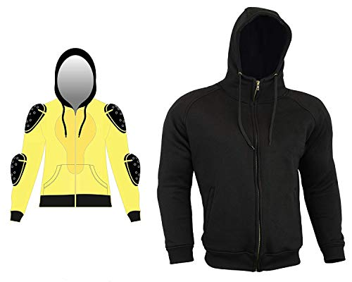 92990b32 Thick Kevlar Motorbike Armoured Hoodie Motorcyle Summer Jacket Hoody with  Removable Armour Bikers Fasion Gears -