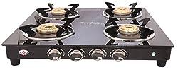 SURYA JWALA Surya ROYALE GT04 BB 4 Burner Manual Gas Stove