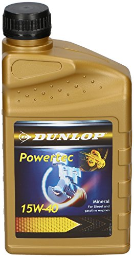 Dunlop 8711252013169Olio motore, 1 l, 15W-40, Oro