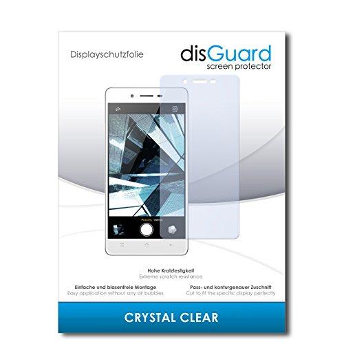 disGuard® Displayschutzfolie [Crystal Clear] kompatibel mit Oppo Mirror 5s [4 Stück] Kristallklar, Transparent, Unsichtbar, Extrem Kratzfest, Anti-Fingerabdruck - Panzerglas Folie, Schutzfolie