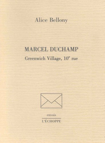 Marcel Duchamp : Greenwich Village, 10e rue