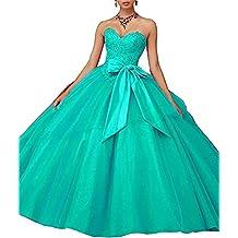 XUYUDITA Lace Appliques Ball Gown Vestido de Fiesta de Noche Beading Sequined Quinceanera Vestidos de Largo