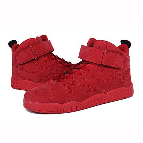 XIAOLIN- Plaque Chaussures Esprit Jeune Partenaire Petit Mouvement Rouge Loisirs Hiver Chaussures