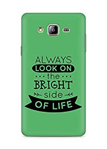 Amez Always look on the Bright Side of Life Back Cover For Samsung Galaxy ON5
