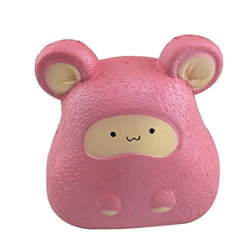 Preisvergleich Produktbild Crazy Squeeze Spielzeug,  Hansee Cartoon Tiere Maus Squishy Langsam steigende Squeeze Stress Relief Stofftiere