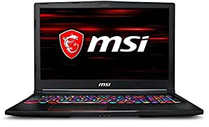 MSI Gaming MSI GE63 8RF-2018 15.6-inch Laptop (8th Gen Core i7-8750H/16GB/1TB/256GB SSD/Windows 10/8GB Graphics), Black