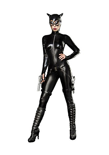 Catwoman Fighter Komplettset L (Mädchen Fighter Kostüm)