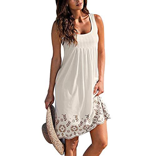 cc71cf6aa68d Qingsiy Vestido Corta Bohemian Estilo Ropa De Playa Verano De Playa ...