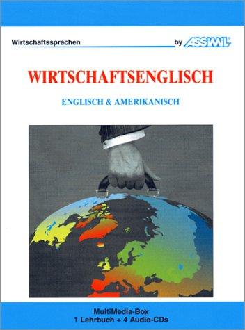 Wirtschaftsenglisch (1 livre + coffret de 4 CD) (en allemand)