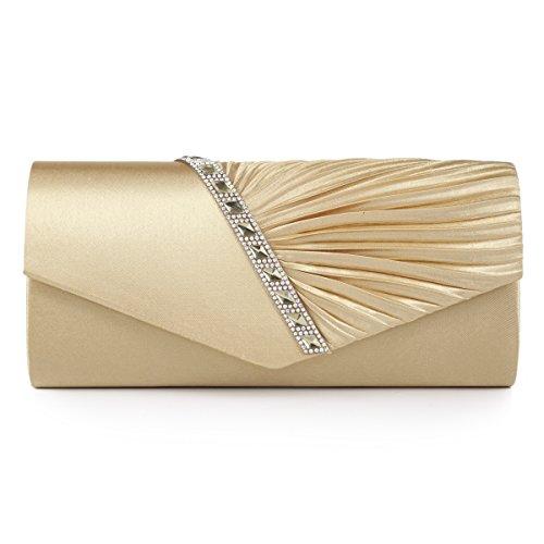Damara Elegant Strassstein Damen Abendtasche Handtasche