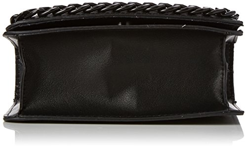Aldo - Calubura, Borse a tracolla Donna Nero (Black Leather)