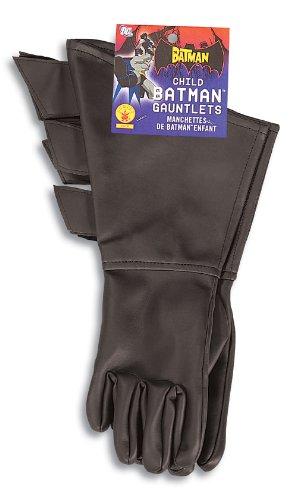 Rubies Costume Co 6679 Die Batman Dlx Kind Handschuhe