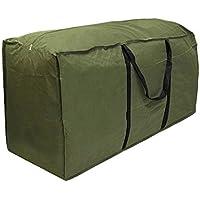 Bolso grande del almacenaje del árbol de navidad con la manija por yunhigh - verde resistente 10ft impermeable del ejército