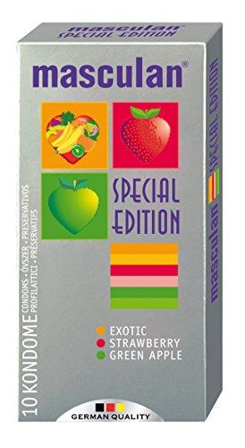 Masculan - 4107050000 - 10 preservatifs Masculan au gout de fruits