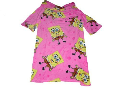 spongebob-girls-plush-wrap-with-sleeves-by-spongebob-squarepants